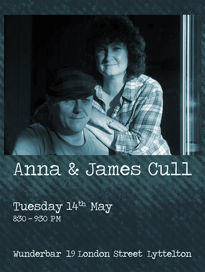 Anna and James Cull at Wunderbar May 2013