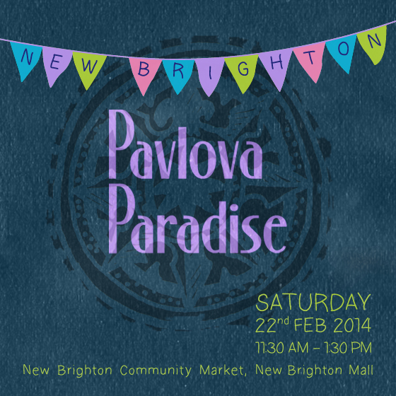Pavlova Paradise Brighton poster 22 Feb 2014