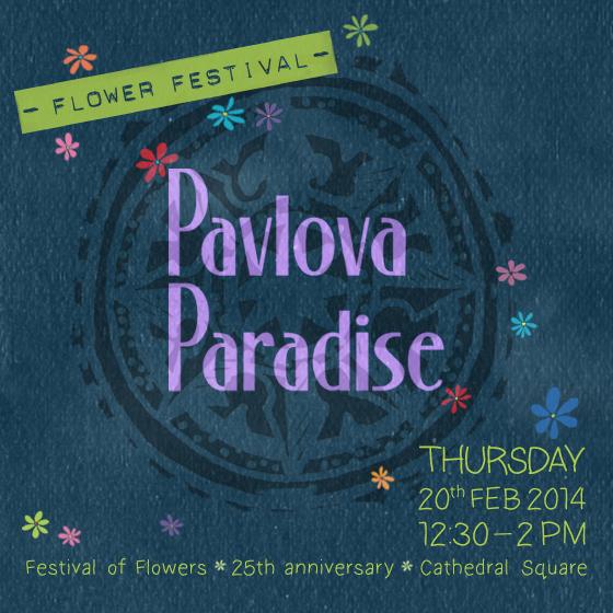 Pavlova Paradise Flower Festival Feb2014